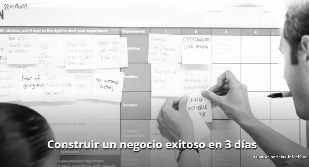 Lean start up Machine es una taller que dura tres días y enseña a construir proyectos de éxito