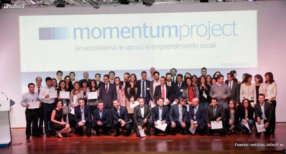 Momentum Proyect es el programa de apoyo a emprendedores patrocinado por BBVA, ESADE y Fundación PwC