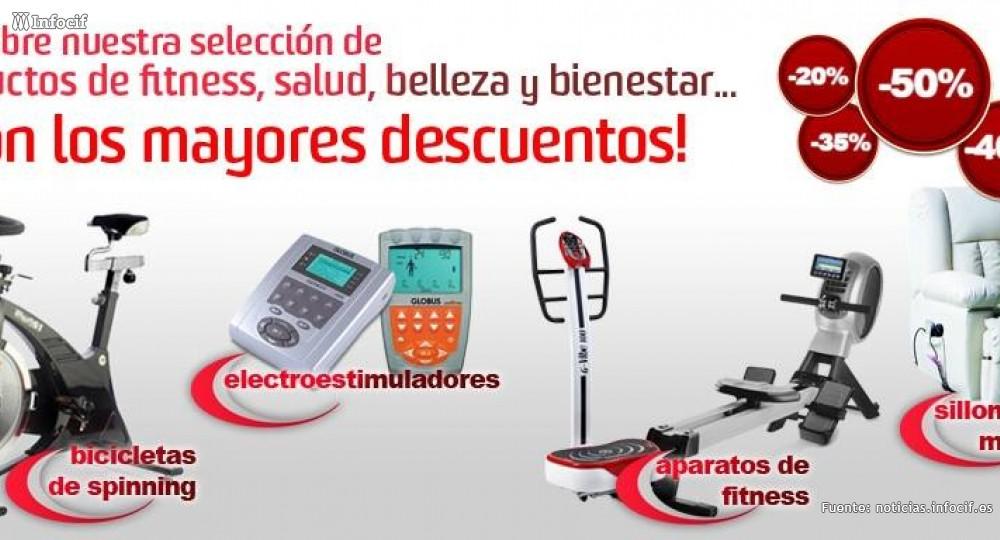 Fitness y Bienestar se dedica a la venta de aparatos de fitness, de salud y estética