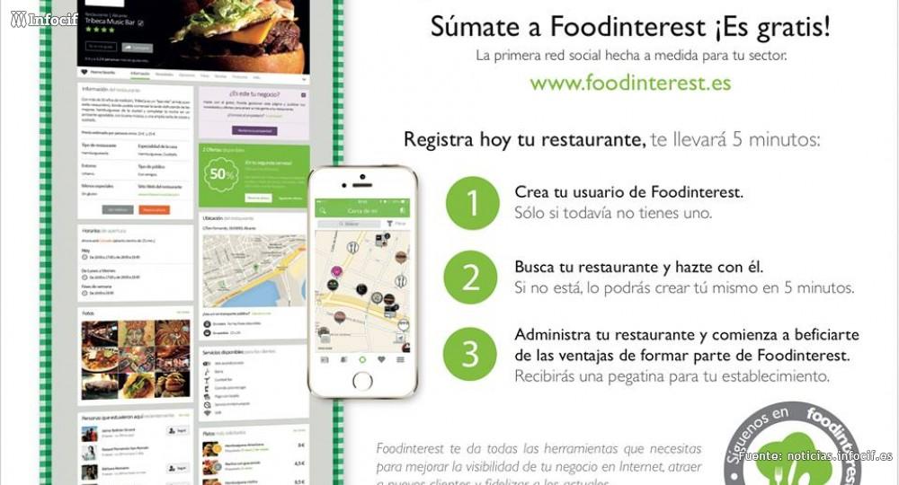 Nace Foodinterest, la primera red social gastronómica y española
