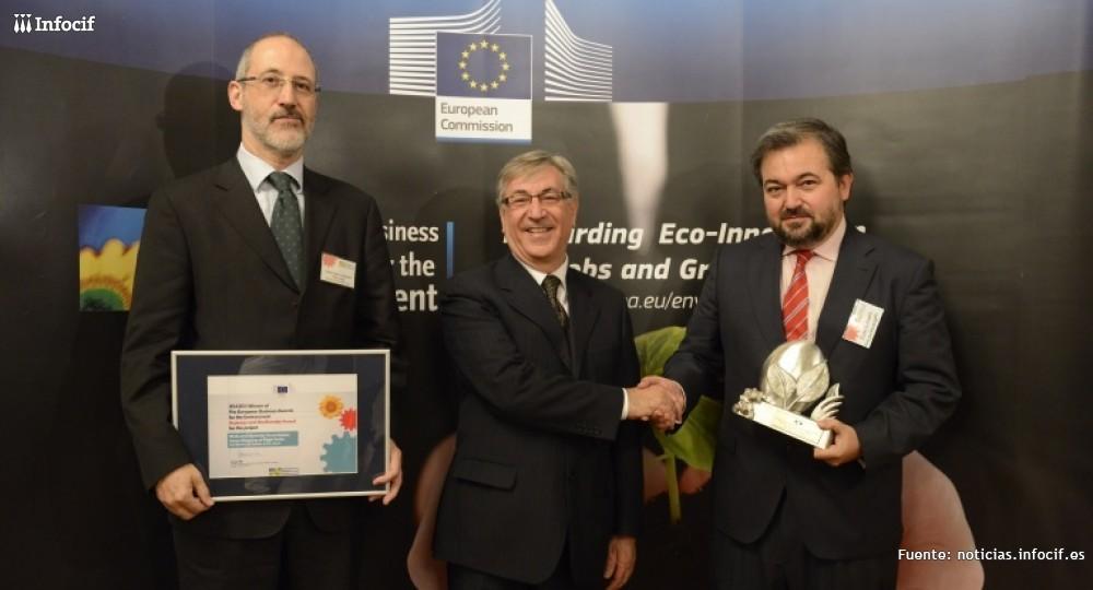 La Red Eléctrica de España recibe el Premio Europeo de Medio Ambiente a la Empresa 2014