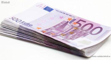 Los billetes de 500 euros vuelven a caer en España