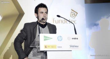 Miguel García, Ceo de BagnoP2P Imagen: Fundetec