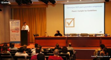 Gedestic forma a 150 profesionales y estudiantes sobre SEO y analítica web en Madrid