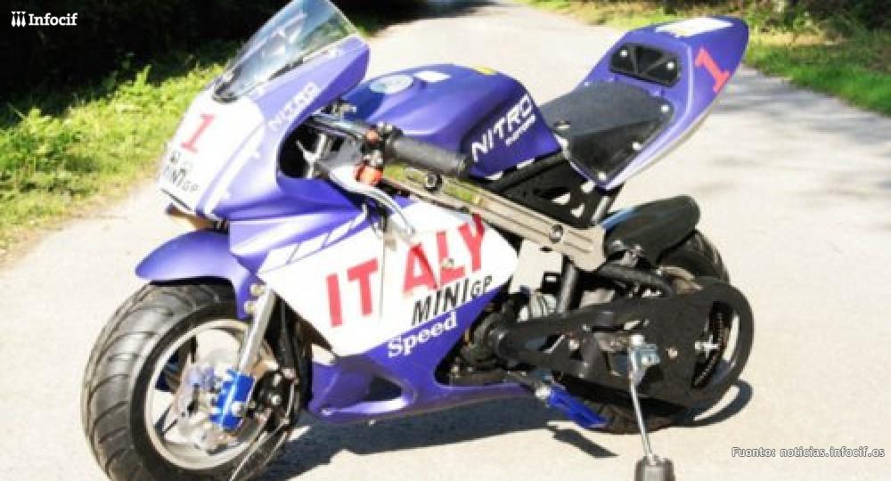 Inz Racing se dedica a la fabricación y venta de minimotos, pocket bikes y mini quads