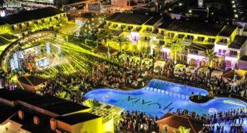 Ushuaïa Ibiza Beach Hotel el la fusión de un club de playa y un hotel concebido para los amantes de la música