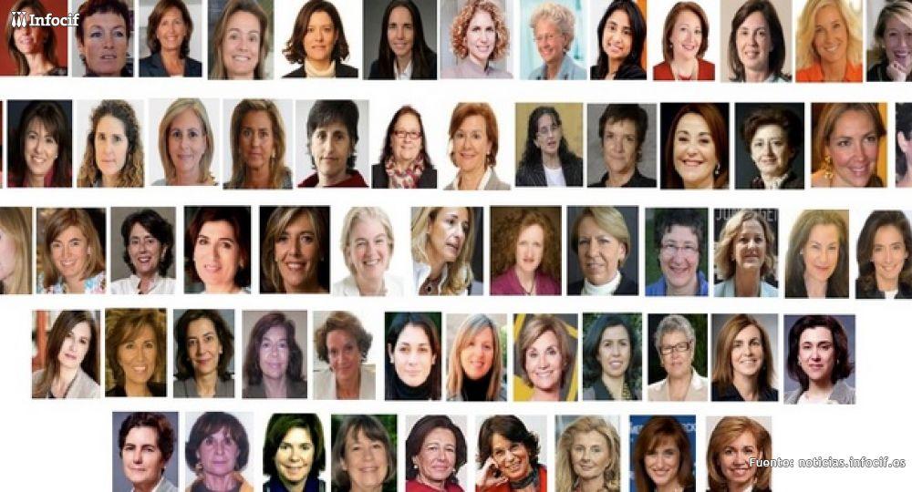 Estas son alguna de las altas ejecutivas Imagen: Clara Fernández