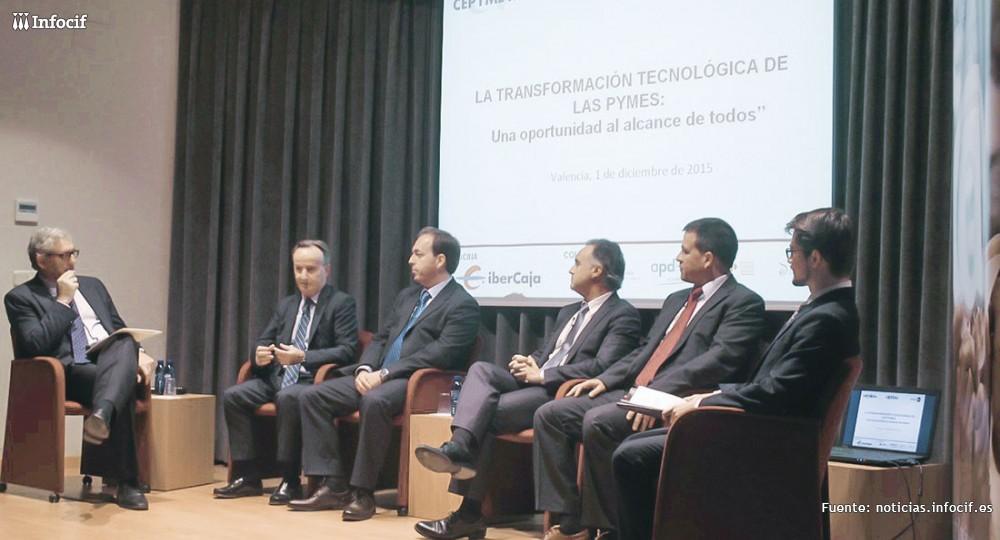 """Infocif presentado como caso de éxito en la jornada """"La transformación tecnológica de las pymes: una oportunidad al alcance de todos"""""""