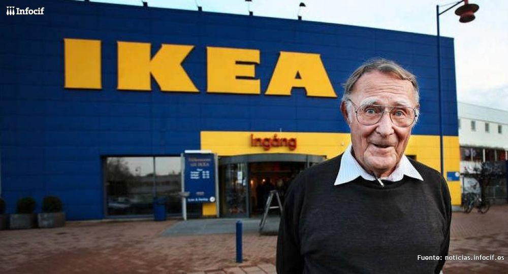 """La historia del """"tacaño"""" fundador de IKEA"""