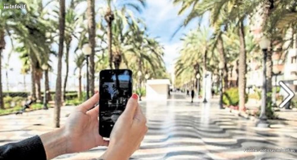 Fotografiando el Paseo de Alicante