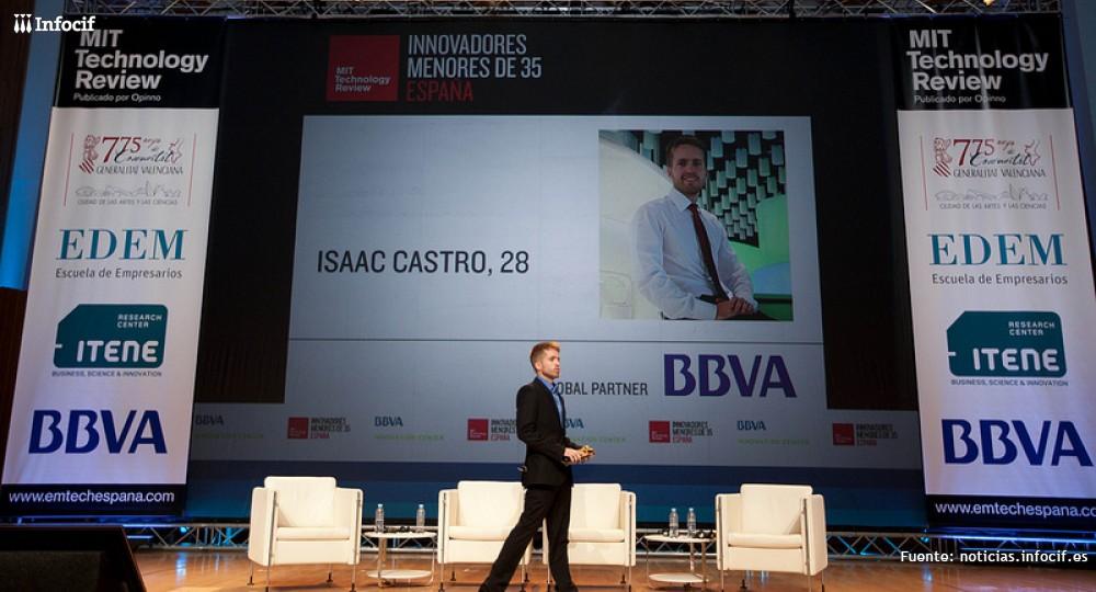 Isacc Castro en Emtech Valencia 2013