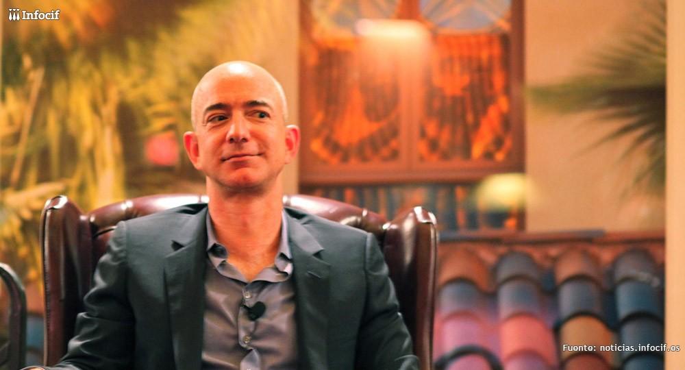 Jeff Bezos, el dueño de Amazon de origen español
