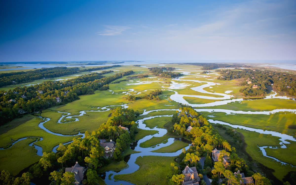 Kiawah Island, pueblo del condado de Charleston en Carolina del Sur