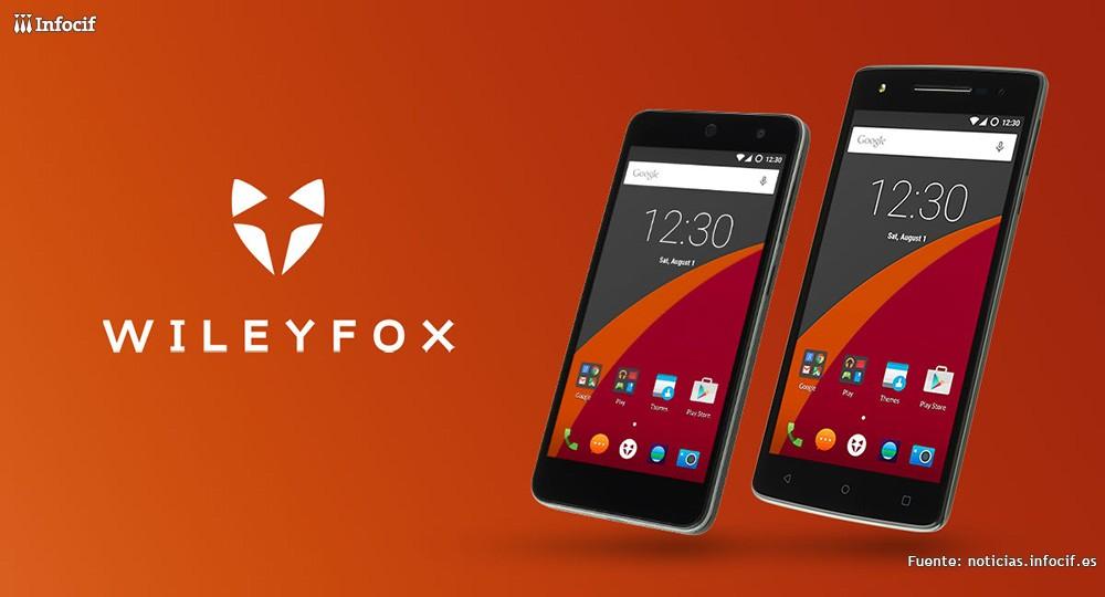 La empresa británica de móviles Wileyfox desembarca en España