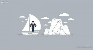 La ilusión del iceberg respecto a un emprendedor