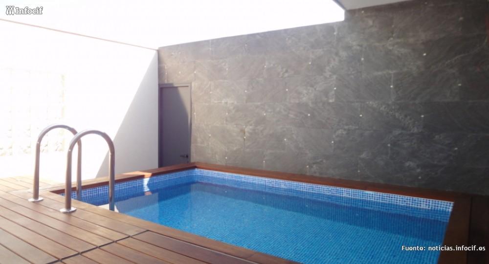 Fabricación de sistemas para piscina en Laineblock