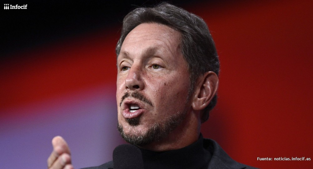 Larry Ellison, fundador de Oracle, deja el cargo