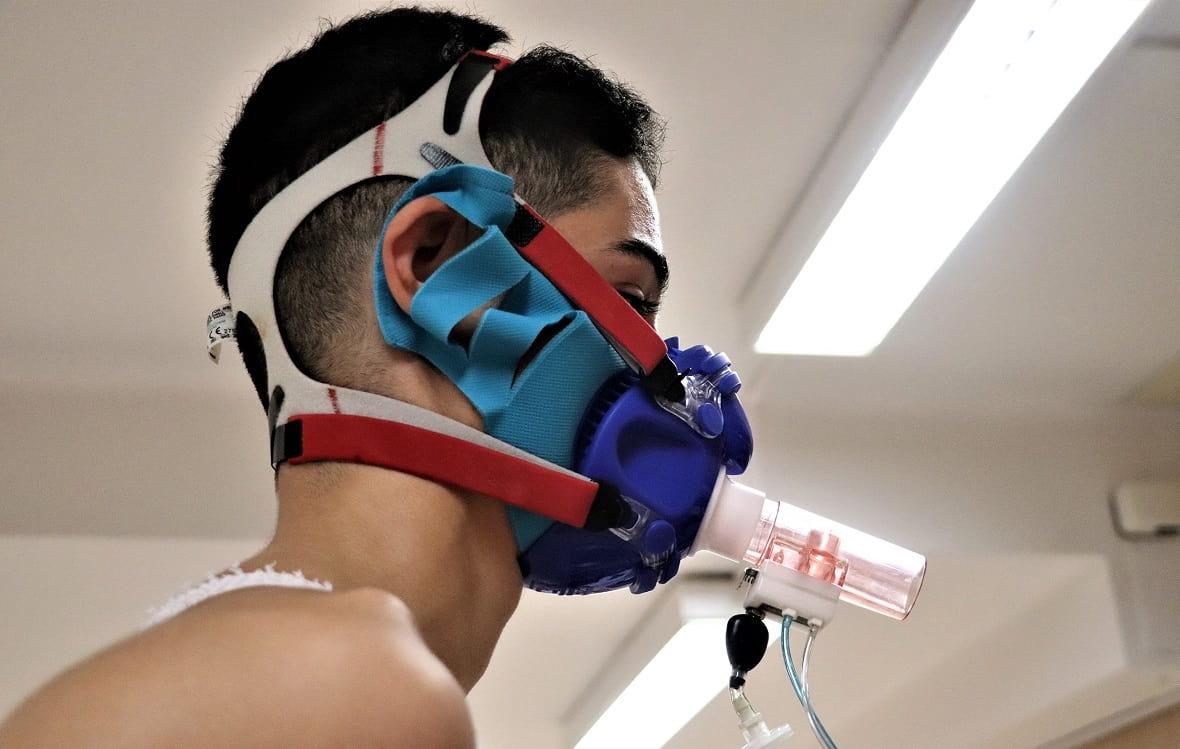 Sanisport crea unas mascarillas para hacer deporte