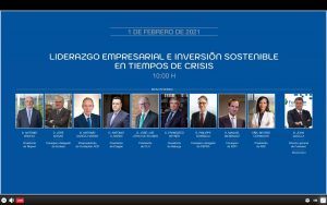 mesa redonda de los principales responsables del sector energético español