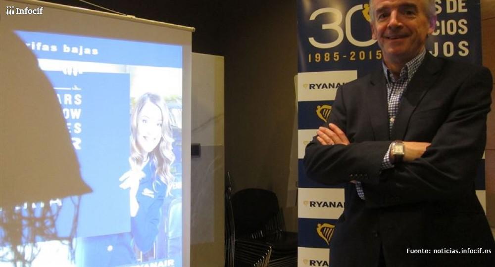 Michael O'Leary, consejero delegado de Ryanair