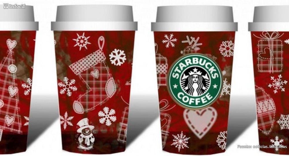 Cada año vuelven los Vasos Rojos de Starbucks por Navidad Imagen: Herasconh