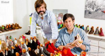 Federico Oria e Iván Rodríguez, socios fundadores de Neonboots