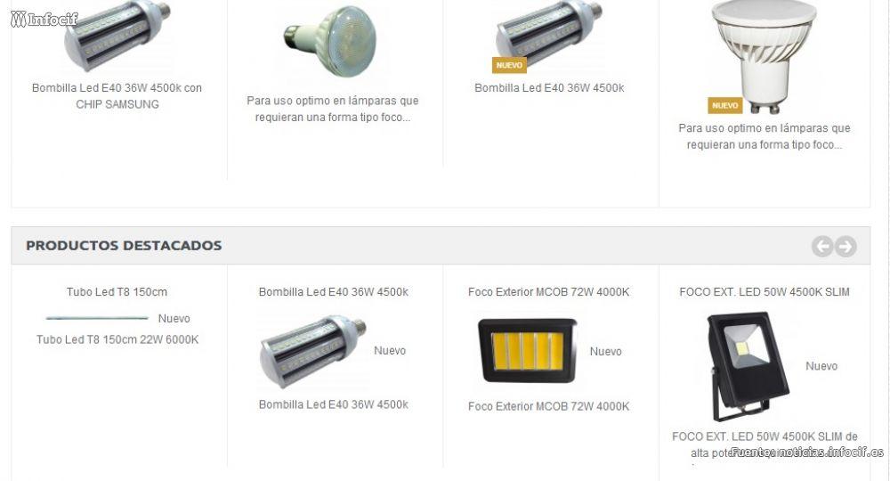 Compra tu iluminación LED online con O2xaled