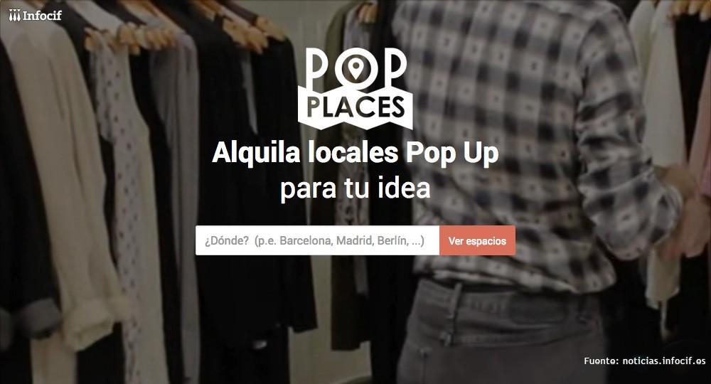 PopPlaces, el marketplace de espacios comerciales online