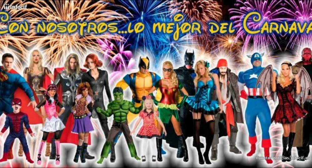 Disfrázate en los Carnavales de Tenerife con La Mansión Mágica