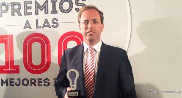 Reúnete recibe el premio 'Las 100 Mejores Ideas de Actualidad Económica'