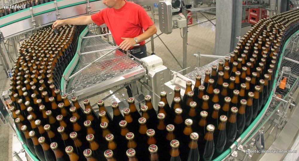La producción industrial crece con fuerza en España