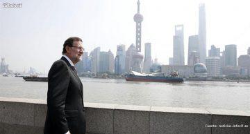 Mariano Rajoy en Shanghai