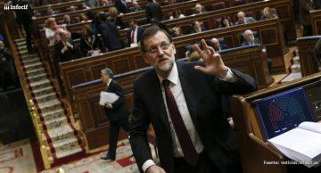 Mariano Rajoy durante el debate del estado de la nación