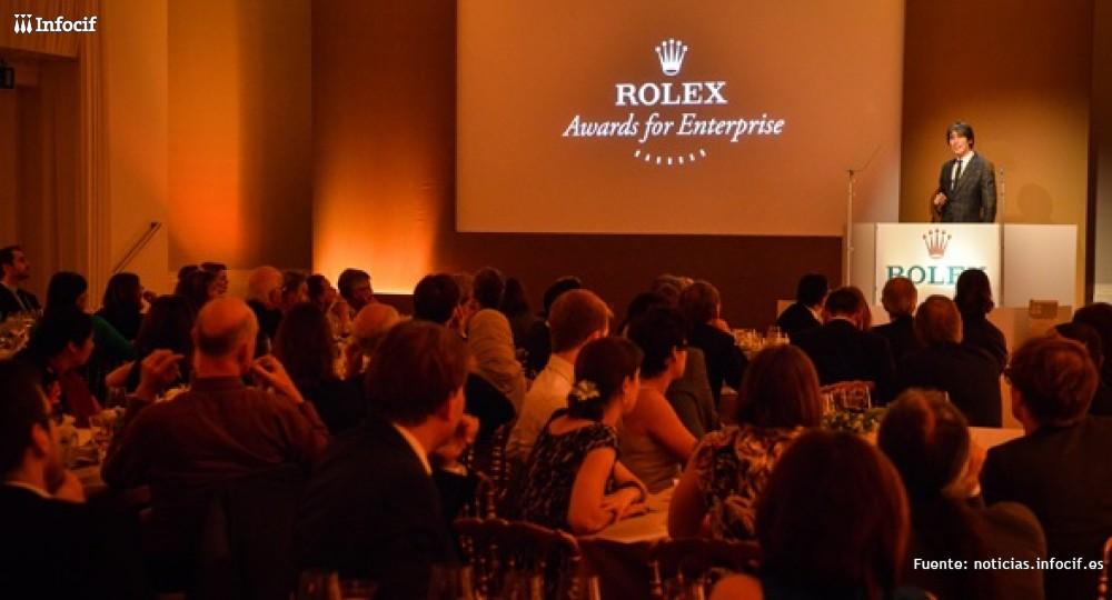 El objetivo de los Premios Rolex es fomentar y recompensar el espíritu emprendedor