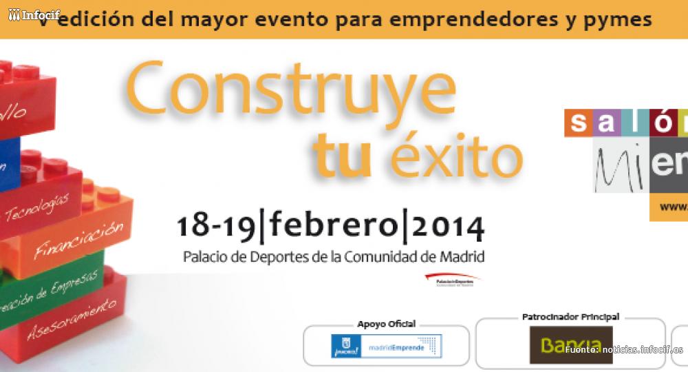 La V edición del Salón Mi Empresa tendrá lugar los días 18 y 19 de febrero en Madrid