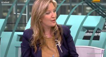 Foto: Intervención de Sara Pérez Frutos en un programa de Intereconomía TV. (Youtube)
