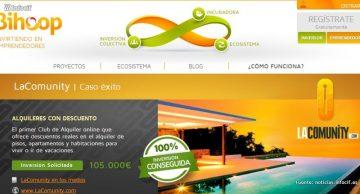 Bihoop es una plataforma de inversión online en startups