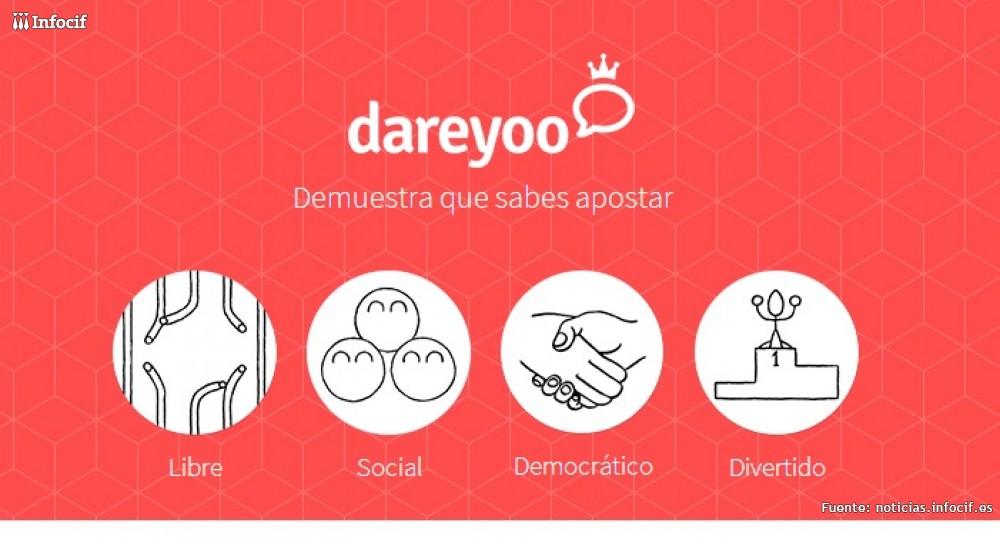 Dareyoo es una nueva plataforma de social gaming donde los usuarios pueden crear cualquier apuesta