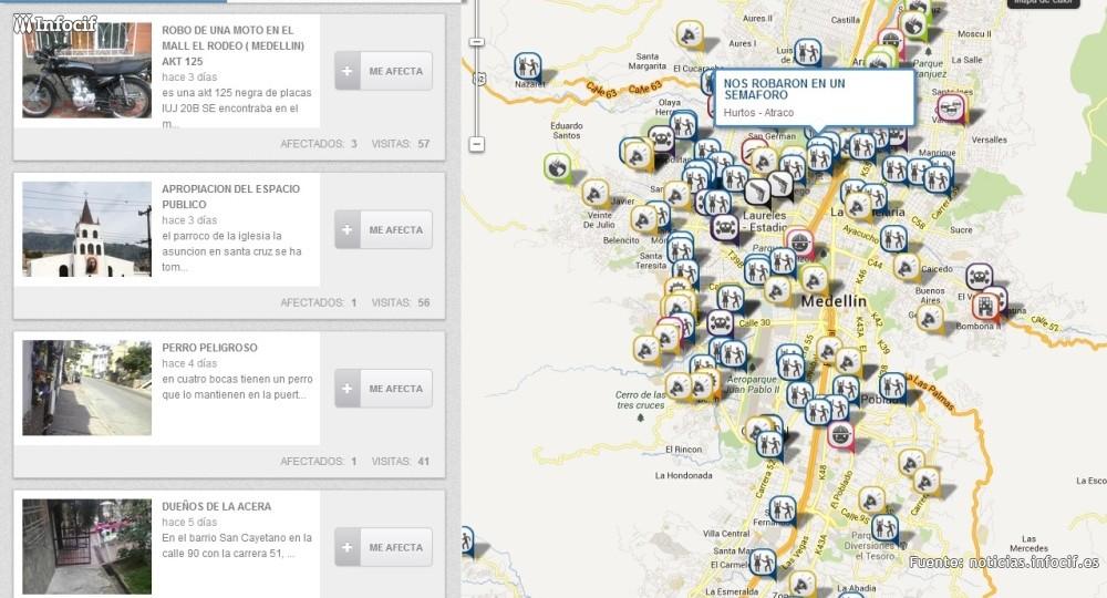 El MIT premia en Colombia una red social ciudadana para denunciar delitos
