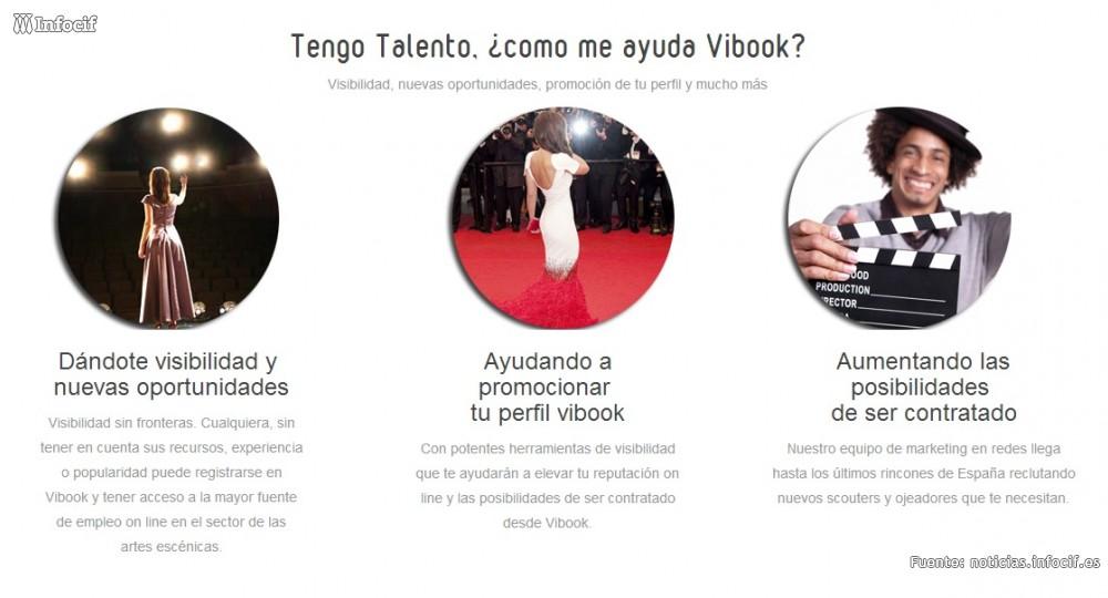 Vibook es una plataforma de búsqueda, selección, promoción y contratación artística