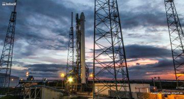SpaceX ya construye la primera plataforma de lanzamiento privada de cohetes