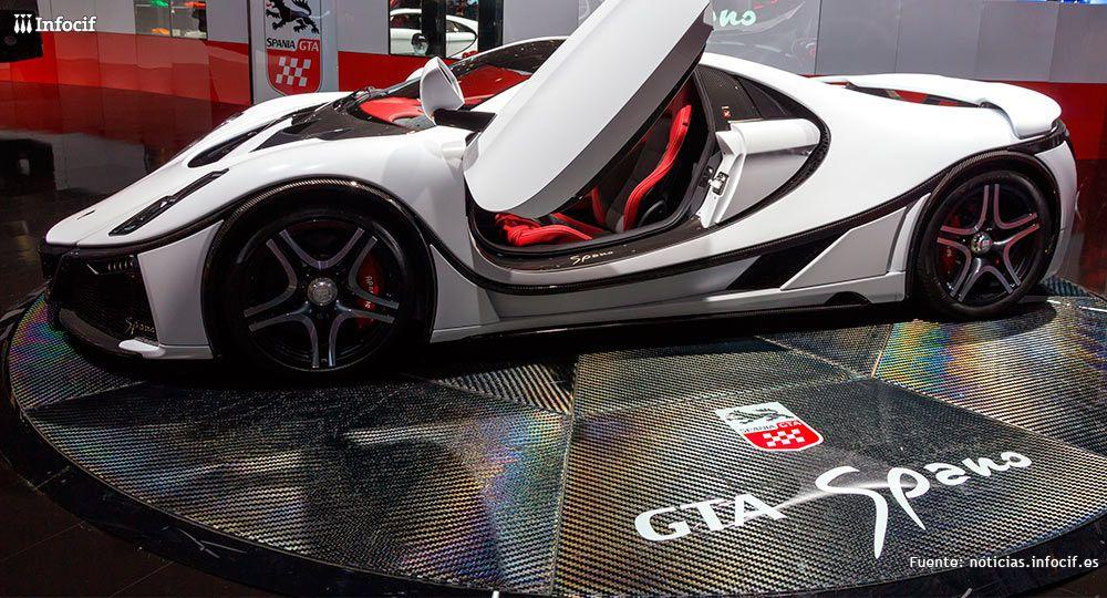 Spania GTA, la firma automovilística que construye 15 deportivos al año