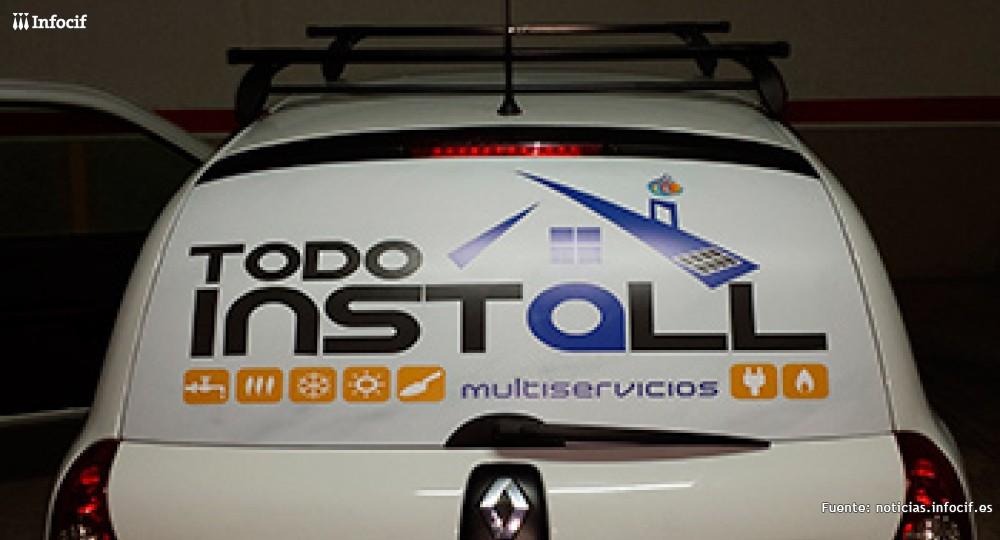 Todoinstall es una empresa multiservicios que se dedica a la fontanería, calefacción, energía solar y electricidad