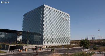 Nueva sede de Telefónica en Madrid