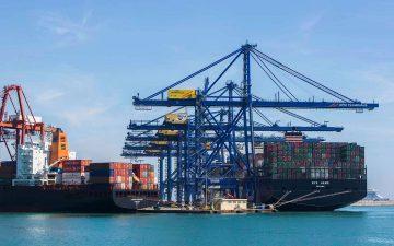 Importaciones en el puerto de Valencia