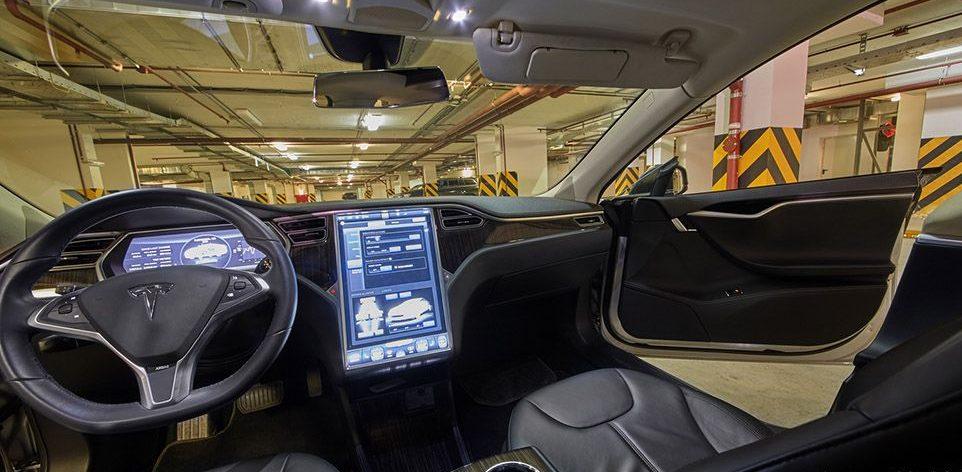 Vehículo autónomo Tesla