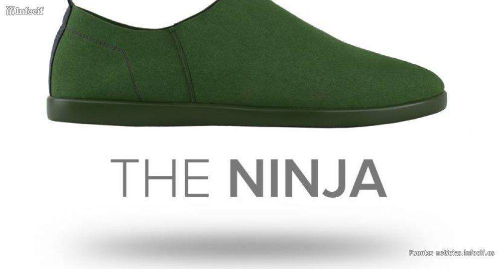 Ninja, las zapatillas de moda que pesan menos de 130 gramos