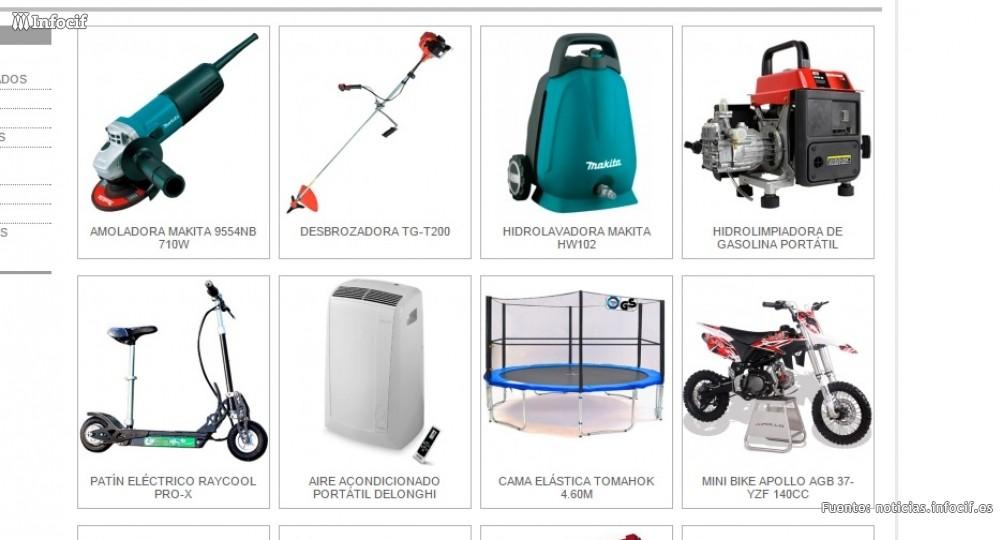 Tonhyto se dedica a comercializar maquinaria industrial y a la compra venta de distintos artículos
