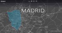 Uber empieza a operar en Madrid