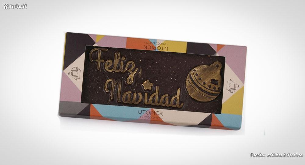 Utopick, chocolates con mensaje en Valencia